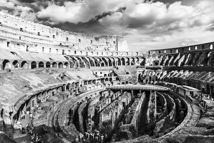 The Colluseum, or Flavian Amphitheater