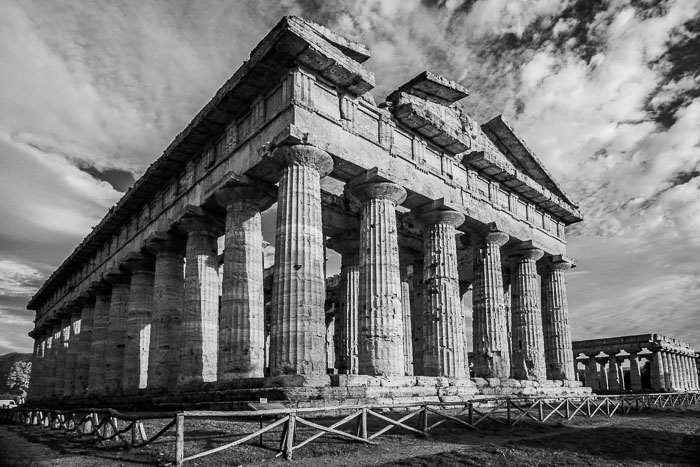 (also known as the Temple of Posidon). Paestum