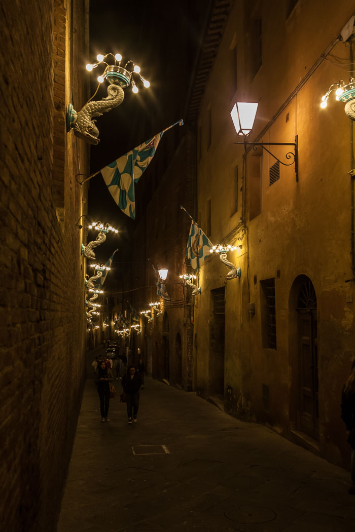 Street scene, Siena